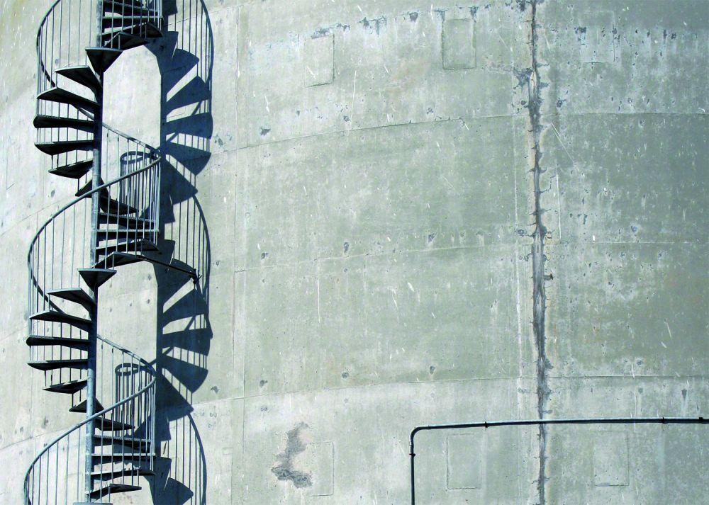 Émilie Losch, Hélicoïde, 2009, photographie numérique, Treasure Island, Californie, USA, tirage sur papier Barité contrecollé sur dibon, 60 x 84 cm. Production Living room 2014. © E. Losch