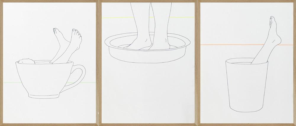 Armelle Caron, Jeux de jambes, 2013. Collection Frac Languedoc-Roussillon