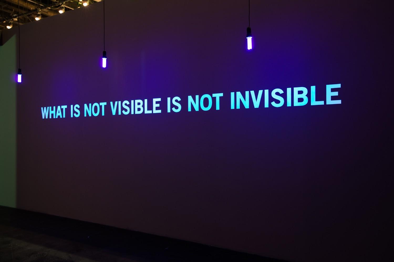 Vue de l'exposition « What is not visible is not invisible » (7.10.2016 – 19.02.2017), Les collections des FRAC au National Museum de Singapour, National Heritage Board. Photo Courtesy of National Museum of Singapore, National Heritage Board
