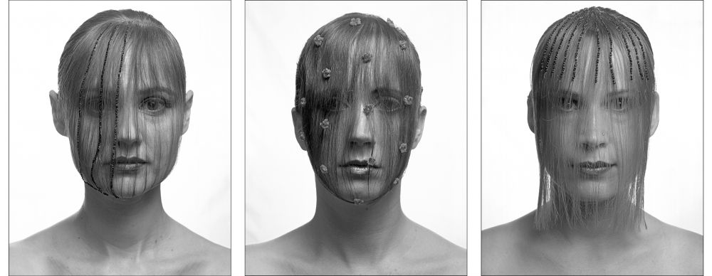(Montage:Lucie-Lorraine-Mathilde)NatachaLesueur,Lucie,2007,photographie,1/5.CollectionFracOccitanieMontpellier.©Adagp,Paris2017