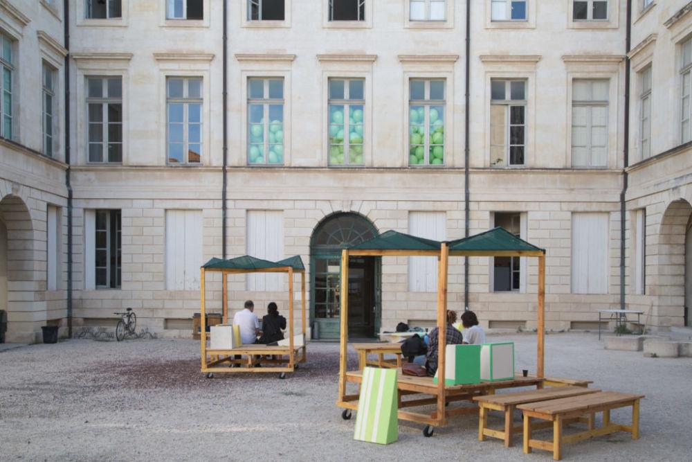 Pneuma Park - Œuvres de la collection du Frac OM. Photo Ésban Nîmes