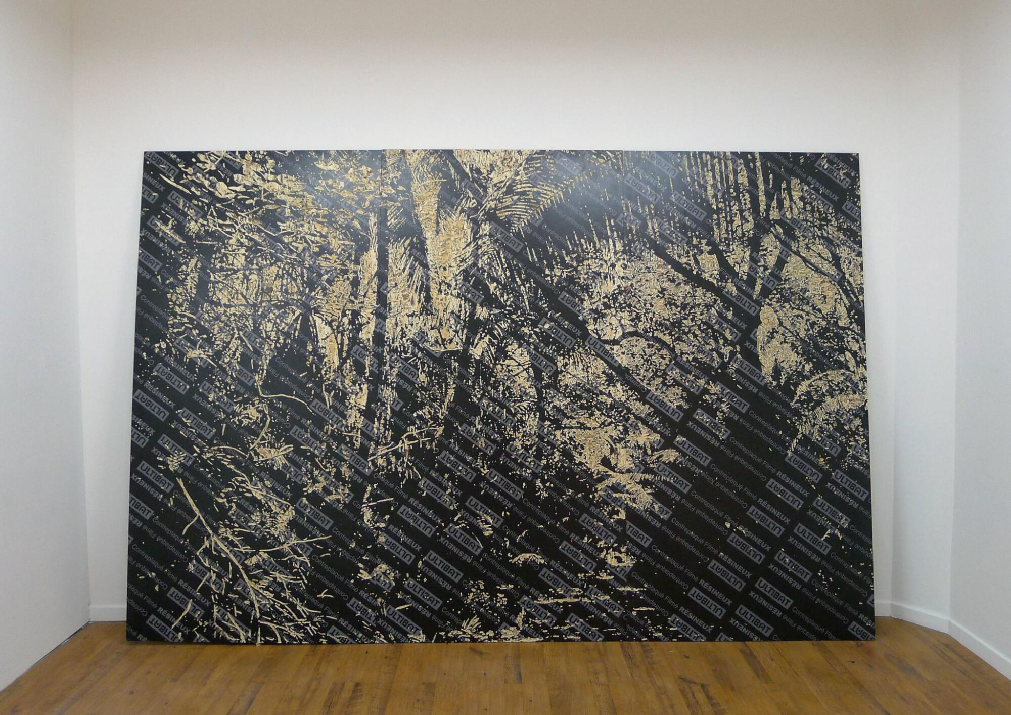 Jean Denant, Fondation, 2013 - Collection Frac Occitanie Montpellier. Photo Galerie Leonardo Agosti