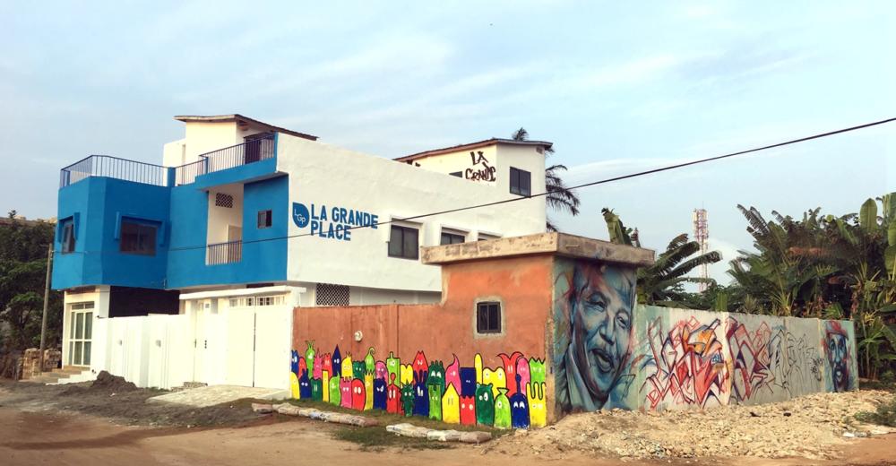 La Grande Place à Porto Novo, Bénin
