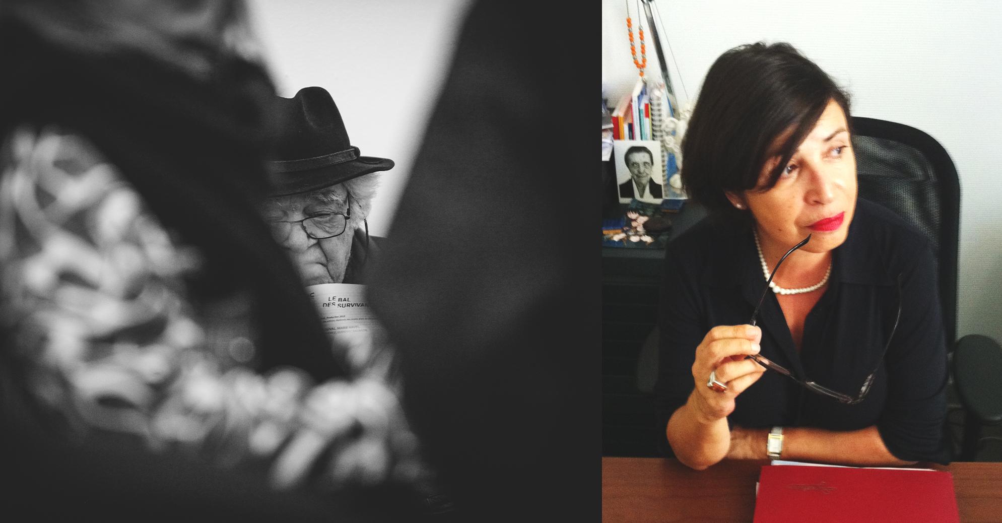 Henri Talvat et Patricia Carette. Photos L. Vilarem et J.-M. Urrea