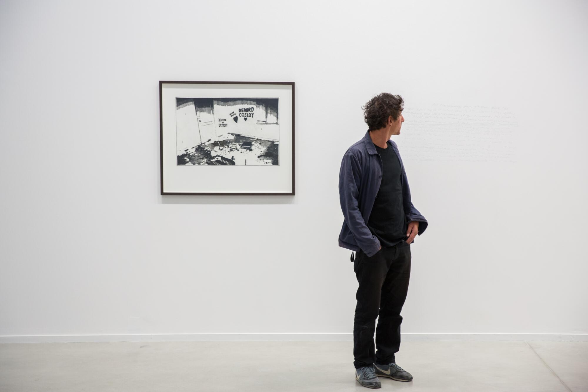 Sylvain Fraysse. Photo de l'artiste