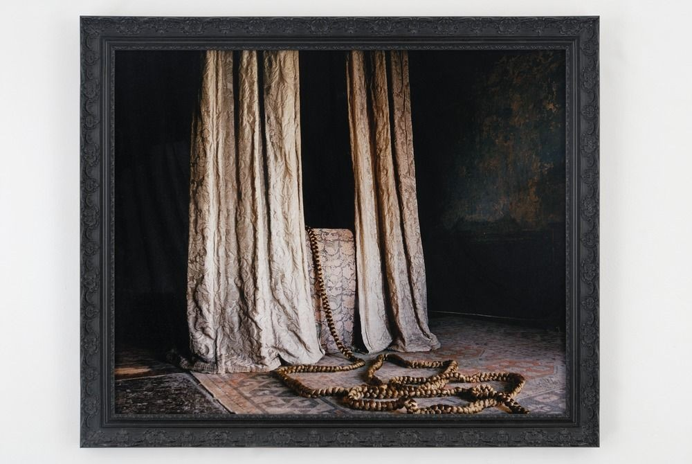 Delphine Balley, Le Lit d'Ursula, de la série 11, Henrietta Street, 2007, 105 x 126 x 4 cm - Collection Frac Occitanie Montpellier
