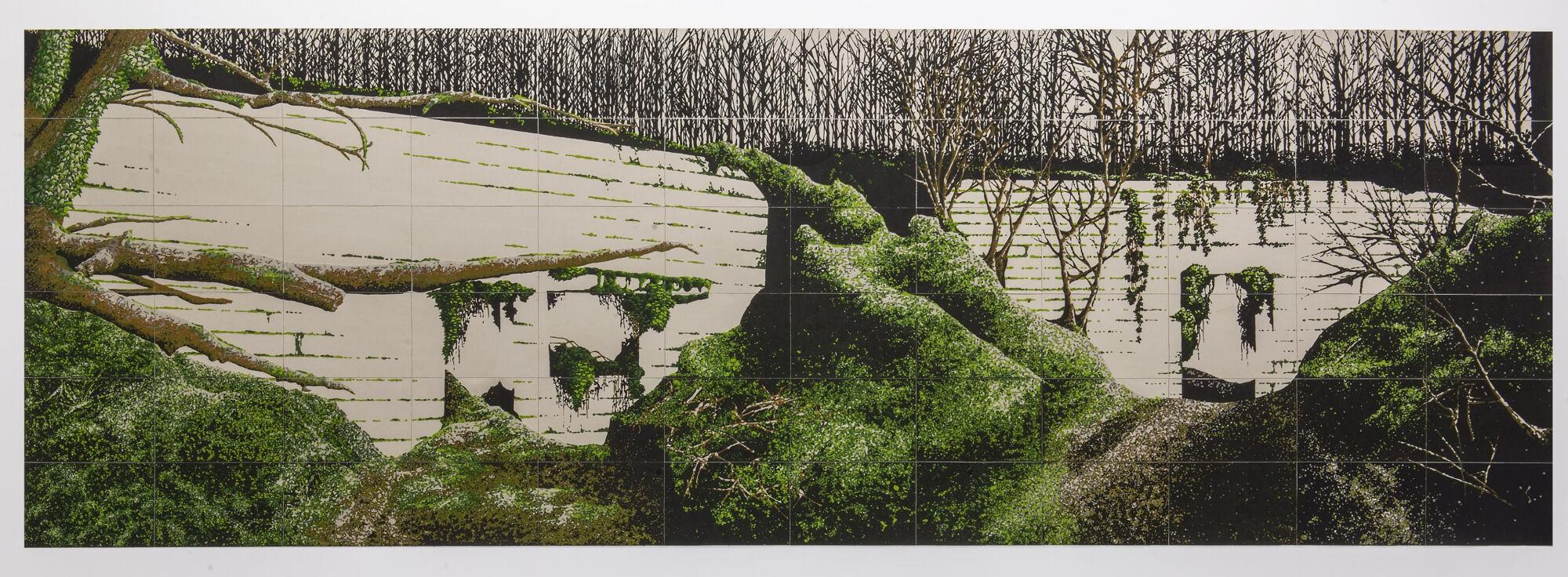 Marie Havel, vue de l'exposition Le Bal des survivances - Post_Production 2019 - Frac Occitanie Montpellier. Photo Pierre Schwartz